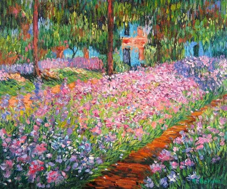 Monet-giardino