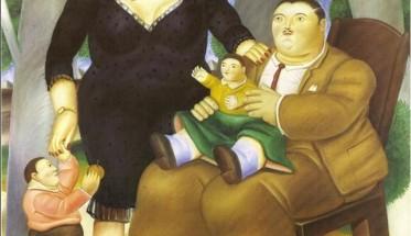 astratta-pittura-moderna-famiglia-1983-opere-d-39-arte-di-fernando-botero-pittura-a-olio-su-373x215