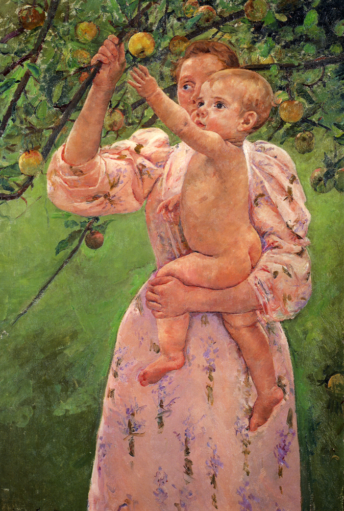 baby-reaching-for-an-apple-1893
