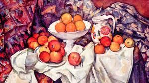 Cezanne brocca e mele
