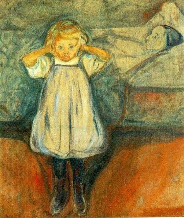 la bambina e la morte
