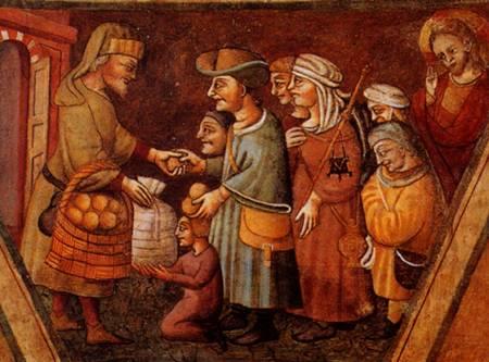 poveri nel medioevo