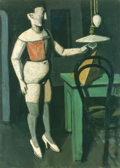 mario sironi - la lampada - 1919