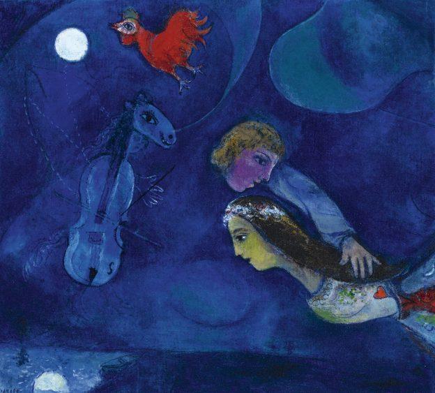 chagall sogno