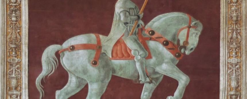 John-Hawkwood-chiamato-dagli-italiani-Giovanni-Acuto-raffigurato-in-un-affresco-di-Paolo-Uccello-in-una-parete-del-Duomo-di-Firenze.-114