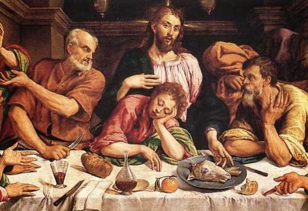 Gesù agnello cena
