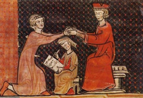 omaggio feudale