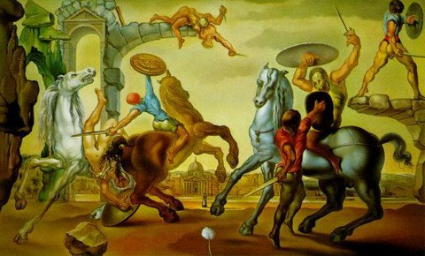 სალვადორ დალის ნახატი