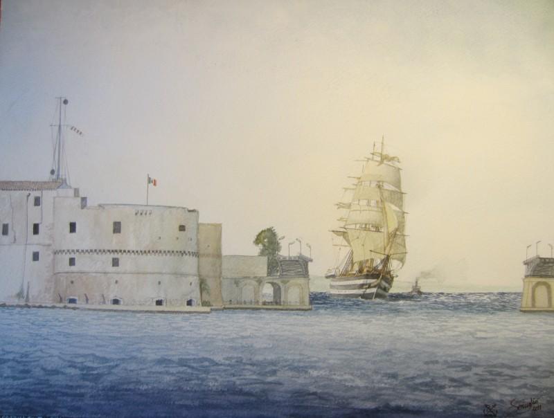 nave ormeggiata