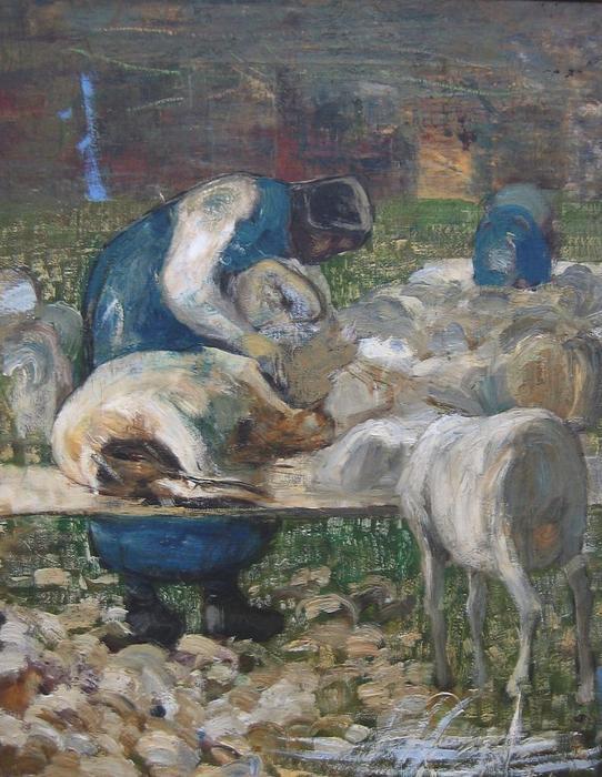 Giovanni-Segantini-La-tosatura-delle-pecore