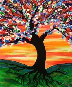 albero felicità