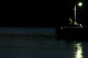 pescare di notte